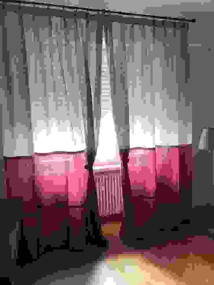 modern  by Matafora Tessili e Dintorni, Modern Flax/Linen Pink