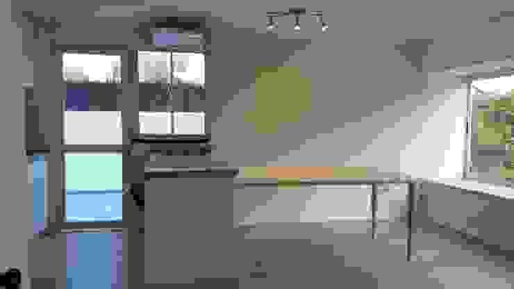 Convertimos una casa en mini hotel de Arquitectura & servicios aociados Moderno Granito