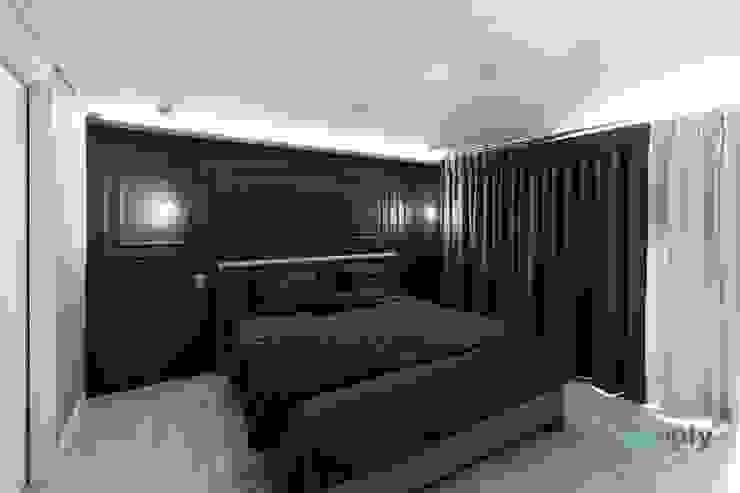 익산인테리어 익산 포스코 더샵 40평대 아파트인테리어 by 디자인투플라이 클래식스타일 침실 by 디자인투플라이 클래식