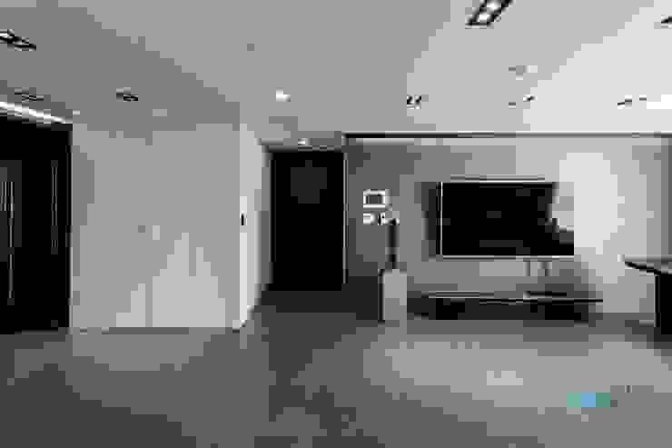 익산인테리어 익산 포스코 더샵 40평대 아파트인테리어 by 디자인투플라이 모던스타일 거실 by 디자인투플라이 모던