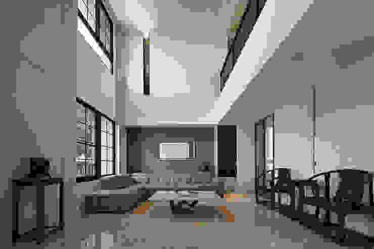 Гостиная в азиатском стиле от 品茉空間設計/夏川設計 Азиатский