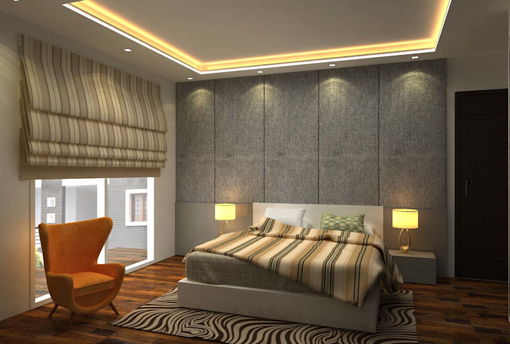 Modern style bedroom by Form & Function Modern
