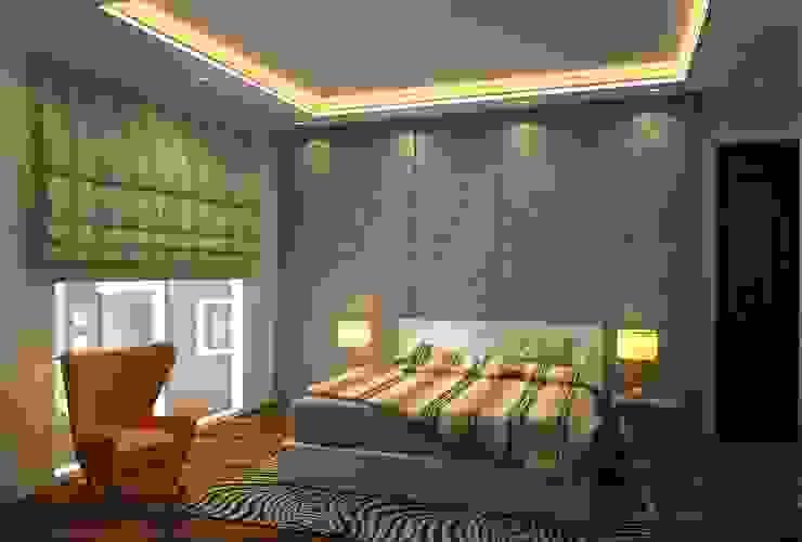 Chambre moderne par Form & Function Moderne