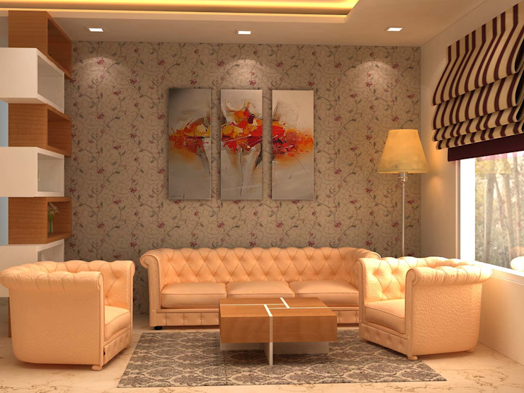 Modern living room by Form & Function Modern