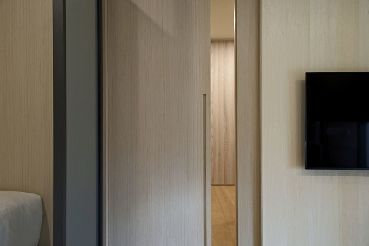 <大樓-3+1房2廳>度假感住宅 貼心三代機能需求 根據 品茉空間設計/夏川設計 北歐風