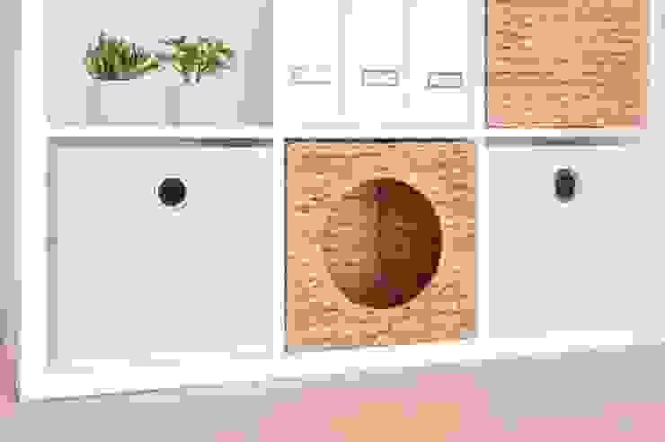 NSD New Swedish Design GmbH SoggiornoScaffali Rattan / Vimini Effetto legno