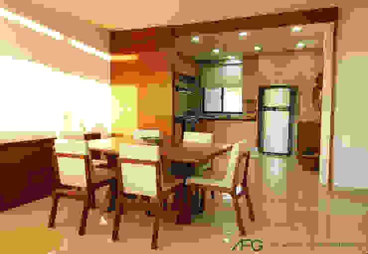 Modern dining room by AFG Construcción y Diseño Modern
