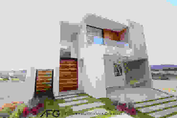 Fachada ANBA interiorismo Casas unifamiliares