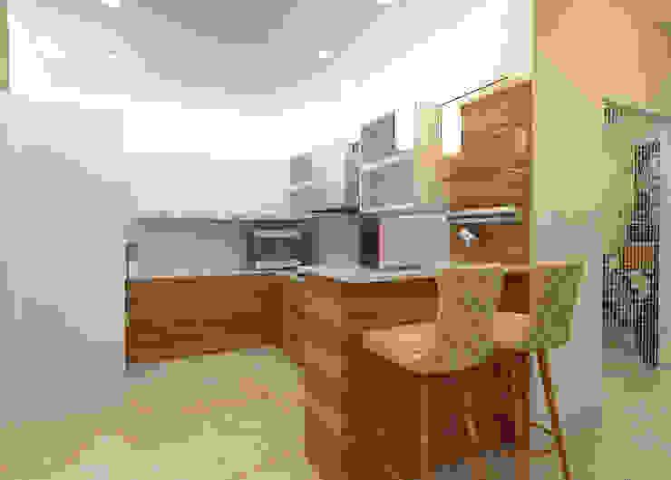 ATS hamlet One, NOIDA Modern kitchen by Form & Function Modern