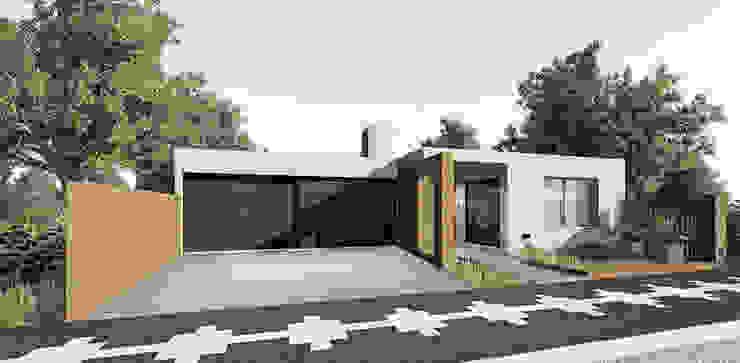 od PRIGIONI Arquitectura y Diseño Nowoczesny Cegły