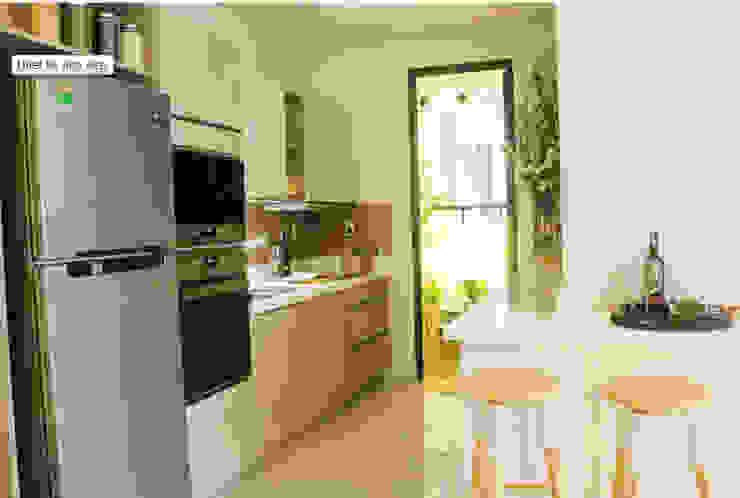Sự tiện nghi trong sinh hoạt cho gia đình cùng với những món đồ nội thất thông minh. Phòng ăn phong cách hiện đại bởi Công ty TNHH TK XD Song Phát Hiện đại Đồng / Đồng / Đồng thau