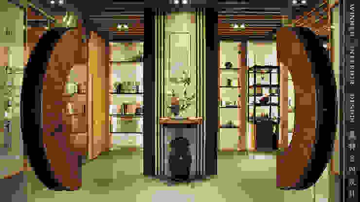 迎賓入口 根據 贏特室內裝修工程有限公司 Winner Interior Design 日式風、東方風