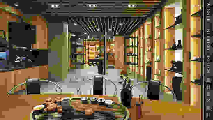 主接待區 根據 贏特室內裝修工程有限公司 Winner Interior Design 日式風、東方風