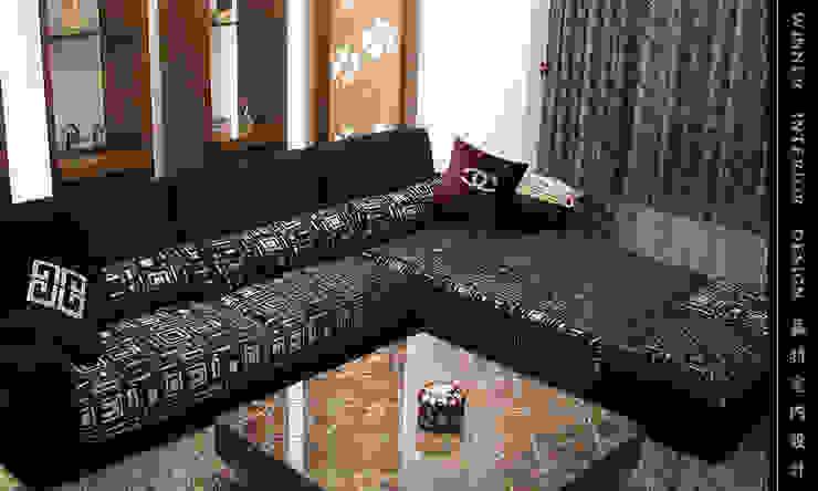 客廳 现代客厅設計點子、靈感 & 圖片 根據 贏特室內裝修工程有限公司 Winner Interior Design 現代風