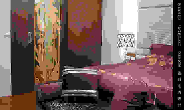 臥室 根據 贏特室內裝修工程有限公司 Winner Interior Design 現代風