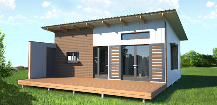 Modular house ready for export or local market. by Greenpods