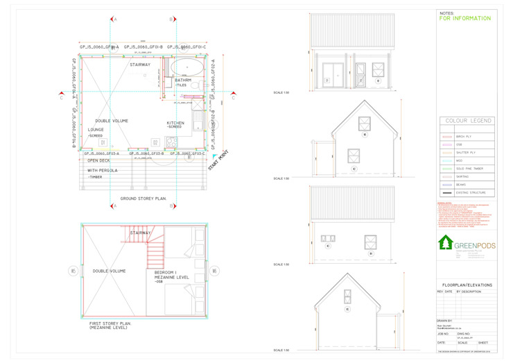 Gorgeous double volume, ready built Green Pod home for sale. by Greenpods