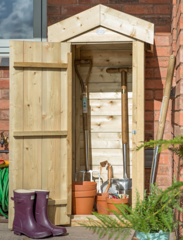 Small Outdoor Storage Options Homify