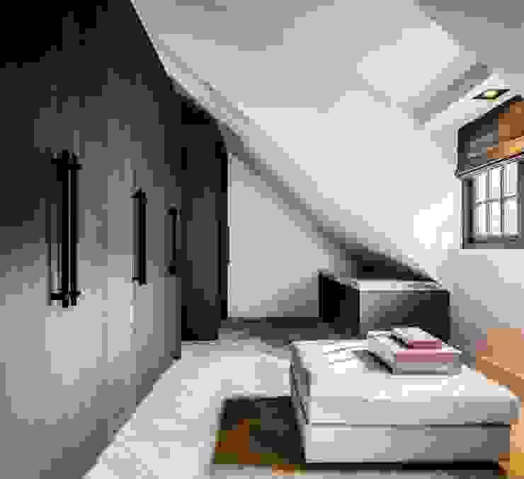rust en eenvoud Landelijke kleedkamers van Studio FLORIS Landelijk Hout Hout