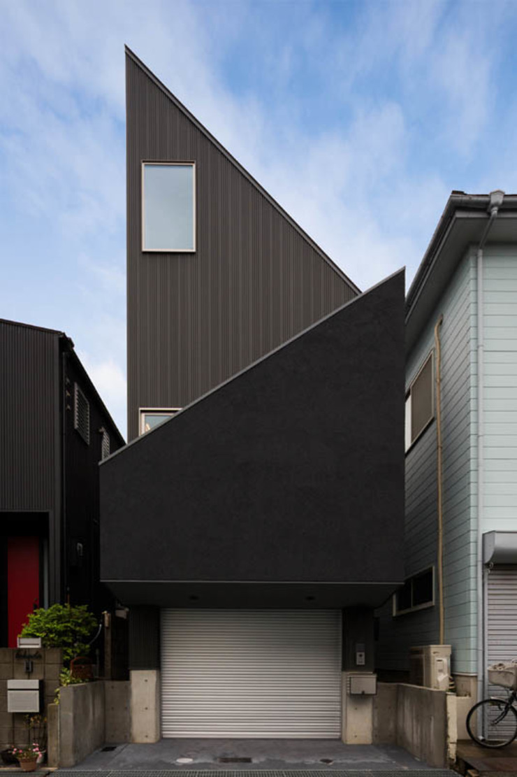 イン・エクスデザイン / in-ex design.Co.,Ltd. Casas unifamiliares