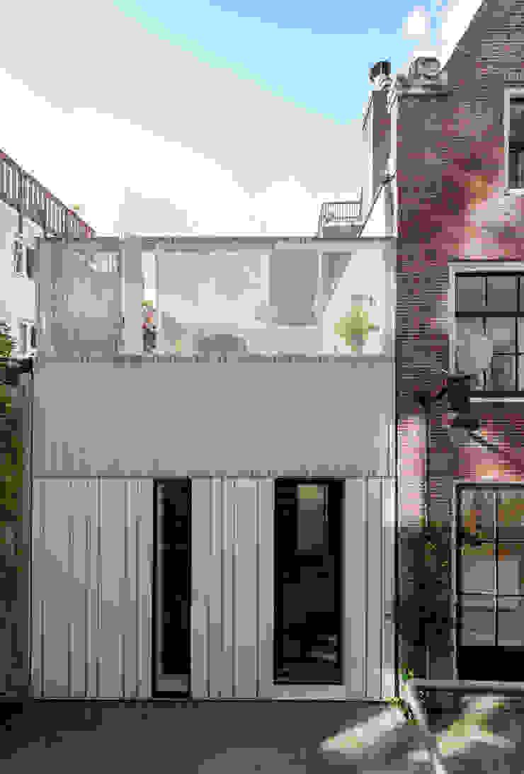 Woonhuis Prinsengracht Moderne huizen van Bas Vogelpoel Architecten Modern IJzer / Staal