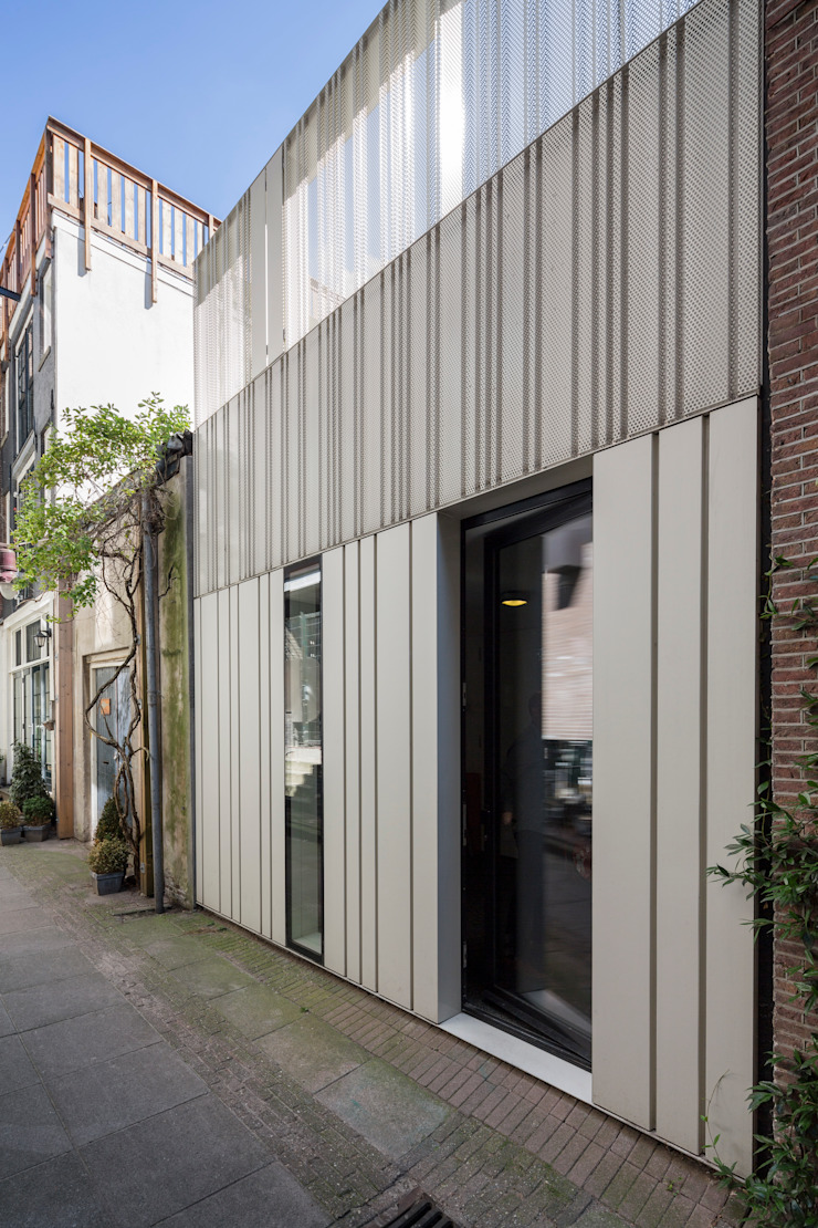 Woonhuis Prinsengracht van Bas Vogelpoel Architecten Modern IJzer / Staal