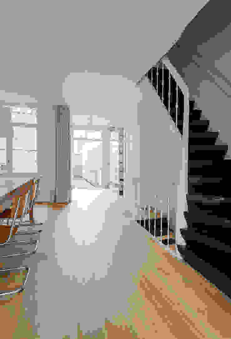 Woonhuis Prinsengracht Moderne eetkamers van Bas Vogelpoel Architecten Modern