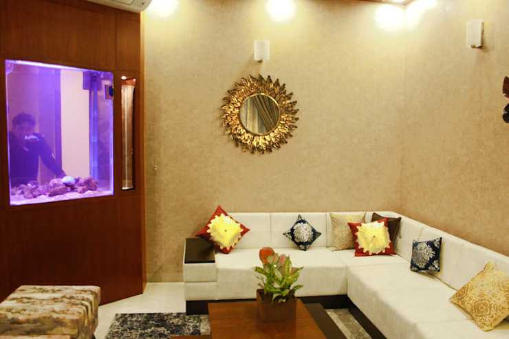 The Villa Modern living room by Ideagully Products Innovations Private Limited Modern
