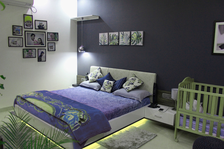 The Villa Modern style bedroom by Ideagully Products Innovations Private Limited Modern