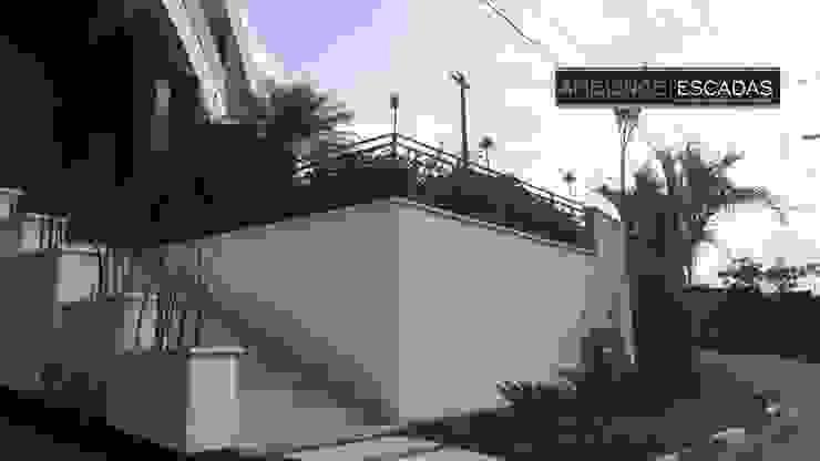 ambience escadas e corrimão Balcones y terrazasAccesorios y decoración Hierro/Acero Negro
