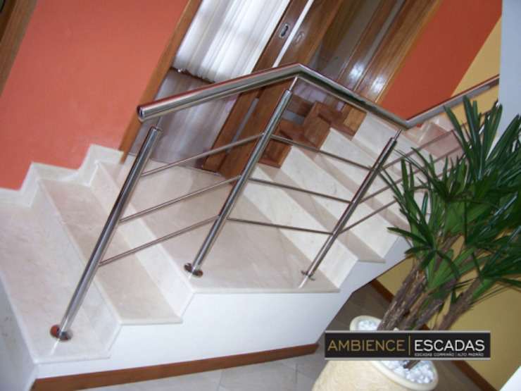 ambience escadas e corrimão 陽台、門廊與露臺 配件與裝飾品 鐵/鋼