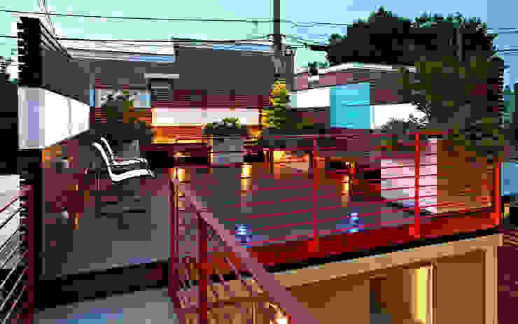 E Street KUBE architecture Modern Terrace