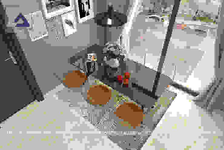 Thiết Kế Cải Tạo Căn Hộ 2 Phòng Ngủ – Tràng An Complex Phòng ăn phong cách hiện đại bởi Thiết Kế Nội Thất CDmax Hiện đại