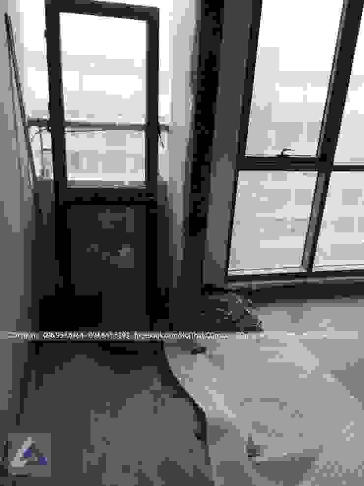 Thiết Kế Cải Tạo Căn Hộ 2 Phòng Ngủ – Tràng An Complex Hành lang, sảnh & cầu thang phong cách hiện đại bởi Thiết Kế Nội Thất CDmax Hiện đại