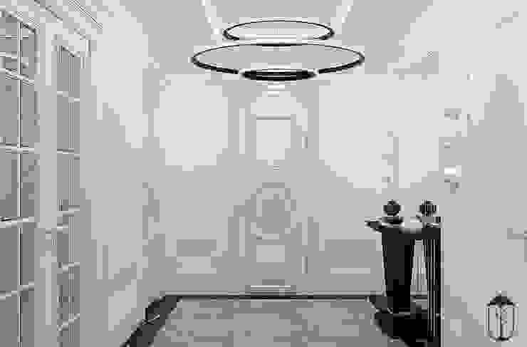 經典風格的走廊,走廊和樓梯 根據 U-Style design studio 古典風