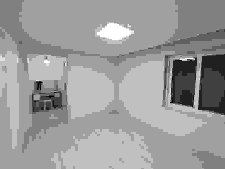 고창 동리로 단독주택 리모델링 모던스타일 미디어 룸 by 더하우스 인테리어 모던