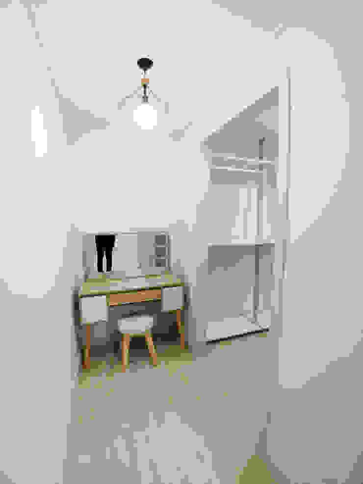 고창 동리로 단독주택 리모델링 모던스타일 드레싱 룸 by 더하우스 인테리어 모던