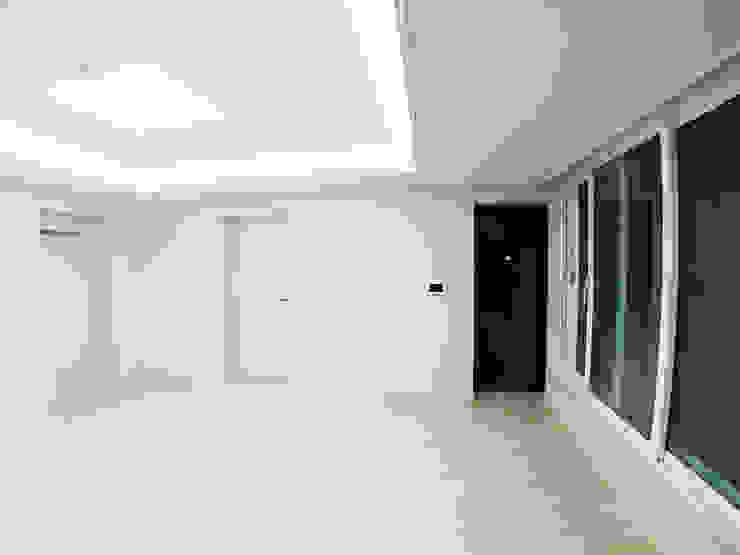 고창 동리로 단독주택 리모델링 모던스타일 거실 by 더하우스 인테리어 모던