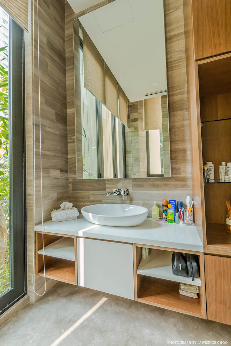 Salle de bain moderne par MJKanny Architect Moderne
