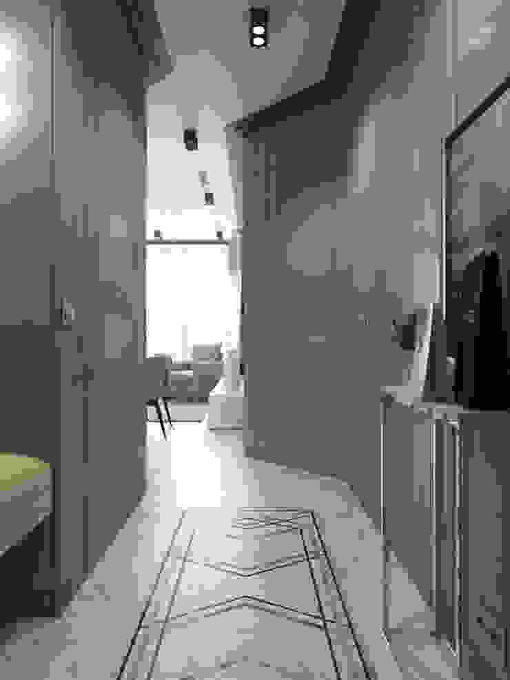 Volkovs studio Pasillos, vestíbulos y escaleras eclécticos