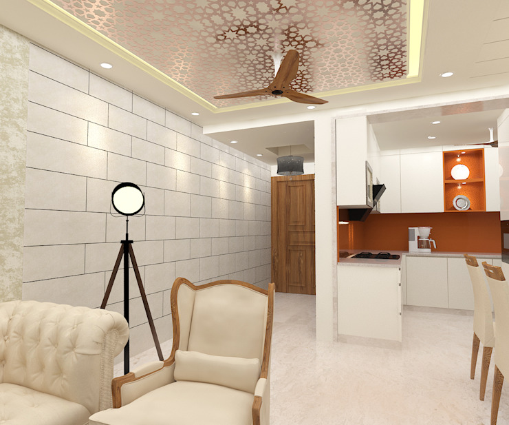 15 Fascinating False Ceiling Designs From Indian Homes Homify