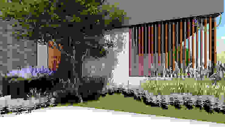 20 Jardines Modernos Para La Entrada De Tu Casa
