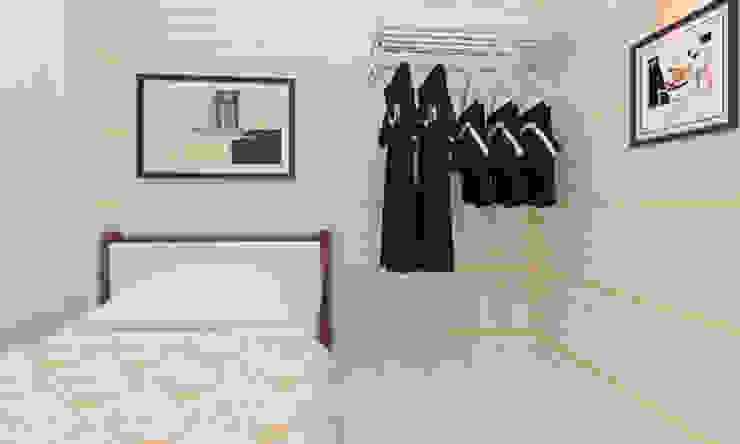 Dormitorios de estilo moderno de Công ty TNHH Xây Dựng TM – DV Song Phát Moderno