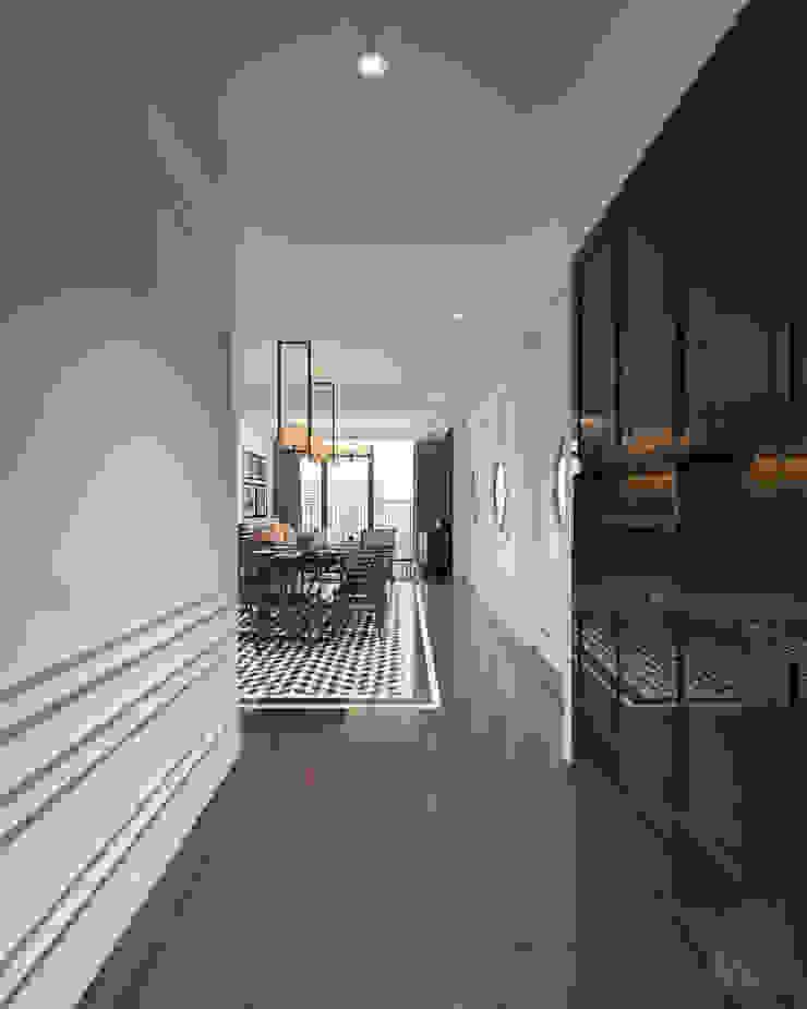 Thiết kế nội thất Vinhomes Central Park – Phong cách Đông Dương bởi ICON INTERIOR Châu Á