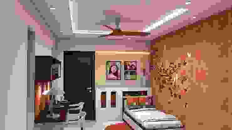 Kinthali Manoj ARK Architects & Interior Designers Girls Bedroom