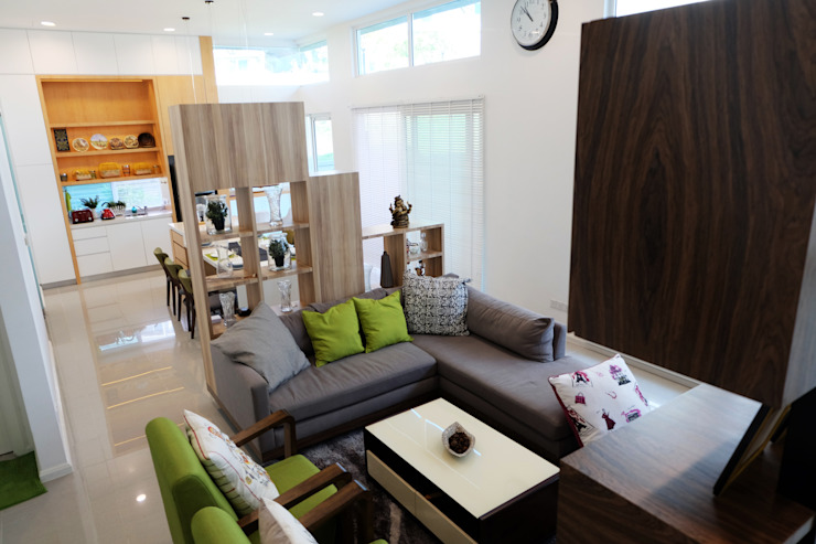 Contemporary Tropical , 3-Storey semi-D by inDfinity Design (M) SDN BHD Tropical