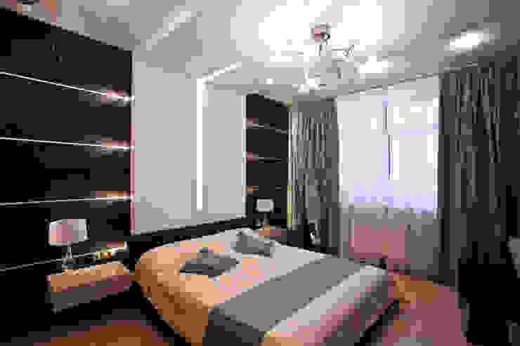 Спальня в современном стиле в Химках Спальня в стиле модерн от Технологии дизайна Модерн