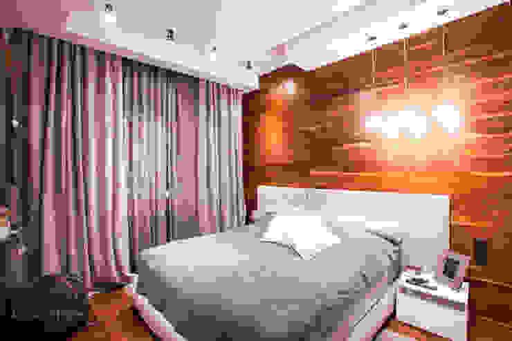 Спальня в современном стиле на Большой Садовой Спальня в стиле модерн от Технологии дизайна Модерн