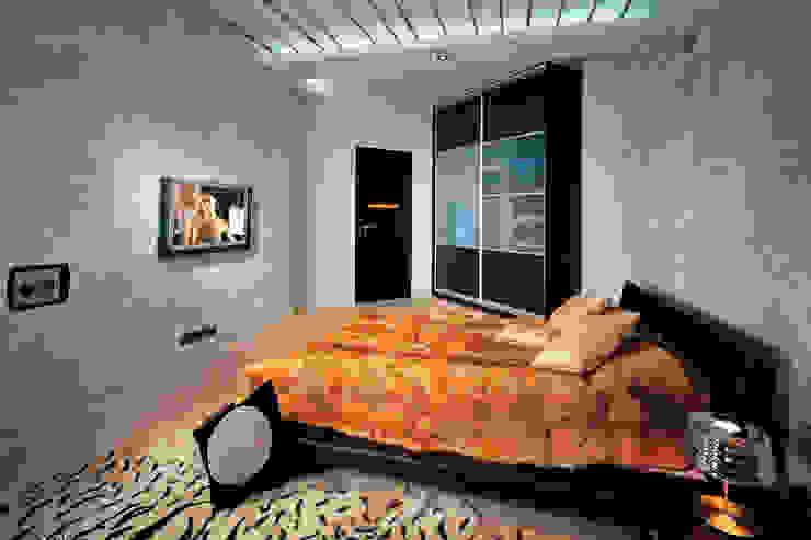 Спальня в современном стиле на Можайском шоссе Спальня в стиле модерн от Технологии дизайна Модерн