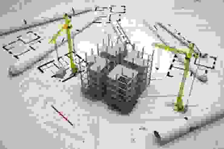 CONSTRUCCION de ARQUICASAS ARQUITECTURA SOSTENIBLE Moderno Ladrillos
